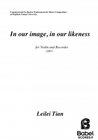 In our image, in our likeness